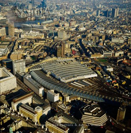 Waterloo Train And Underground Station, London