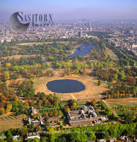 Kensington Palace And Hyde Park, London