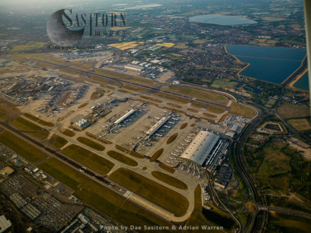 Heathrow Airport Shows All Terminal 5, 3, 2, 1, Cargo And 4