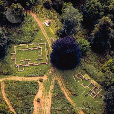 Lydney Park Roman Temple, Gloucestershire, Cotswolds