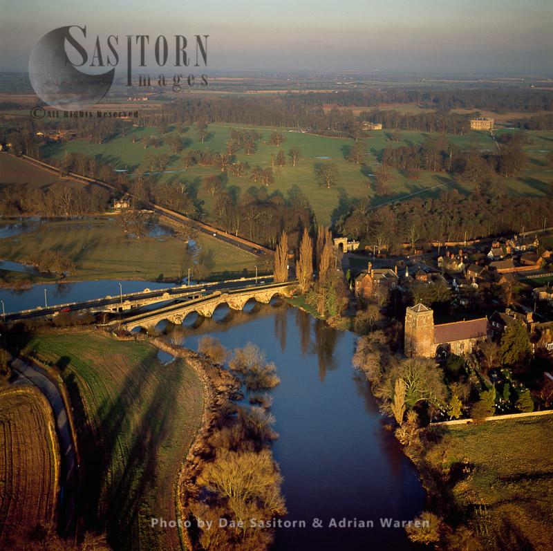 Atcham Bridge On River Severn, Shropshire