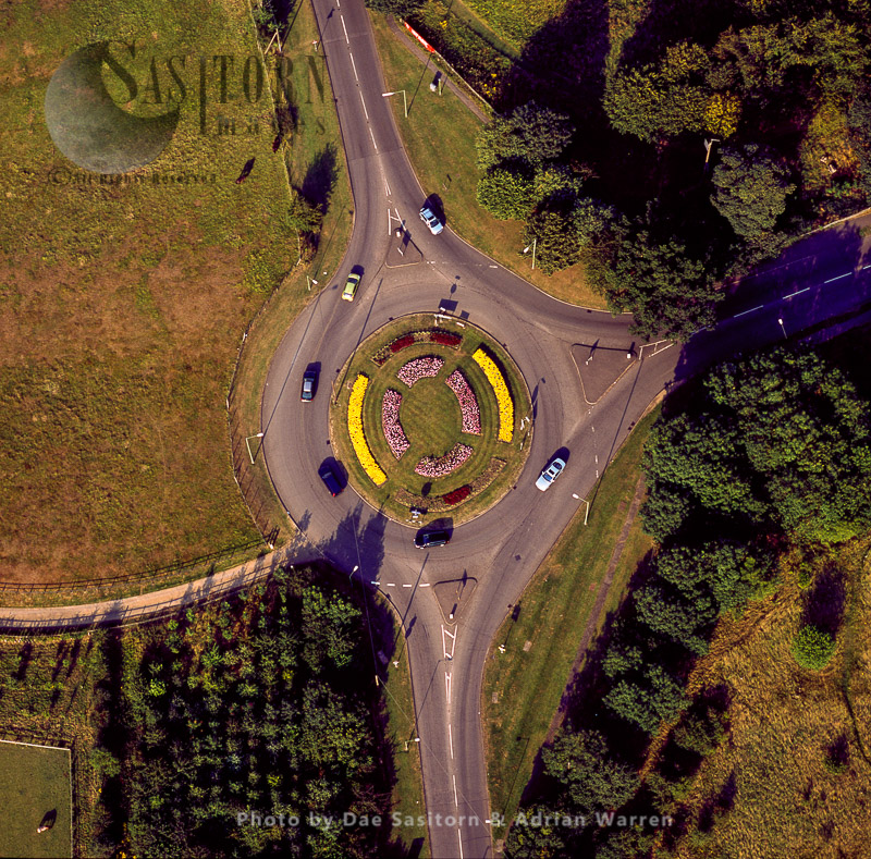 A Roundabout South West Of St Albans, Hertfordshire
