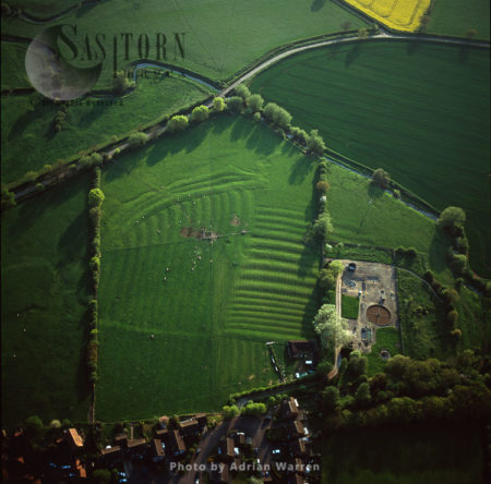 Ancient Settlement Ridge And Furrow, Leckhampstead, Berkshire