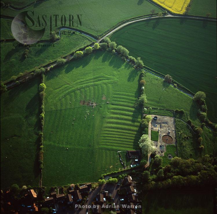 Ancient Settlement Ridge And Furrow, Leckhampstead, Berkshire