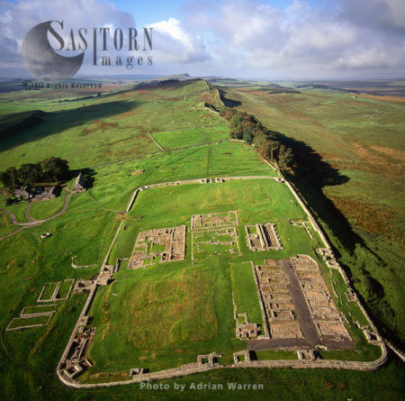 Housesteads Roman Fort And Hadrian's Wall, Northumberland