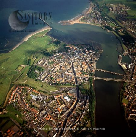 Berwick-upon-Tweed And The Estuary Of River Tweed, Northumberland