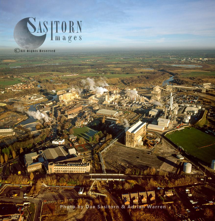 Winnington Soda Ash Works, Brunner Mond Cheshire ICI/Tata, Cheshire