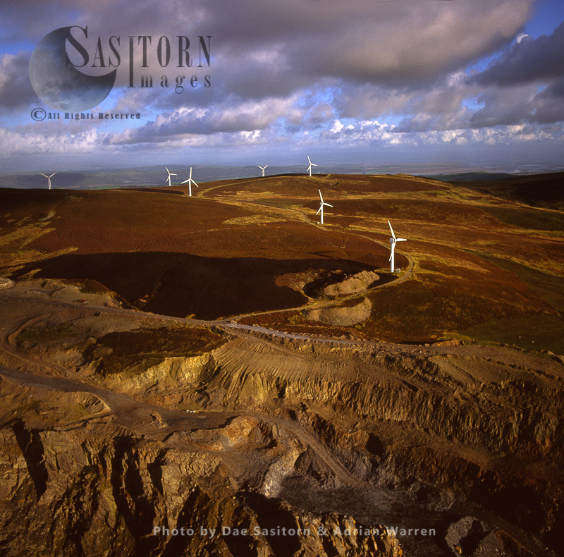Wind Farm At Kirkby Moor, Cumbria