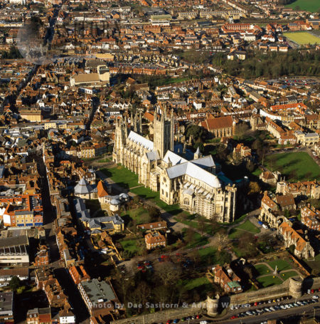 Canterbury Cathedral And Its City, Kent