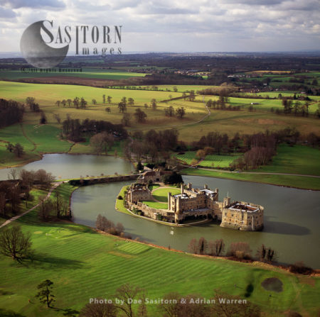 Leeds Castle, Southeast Of Maidstone, Kent