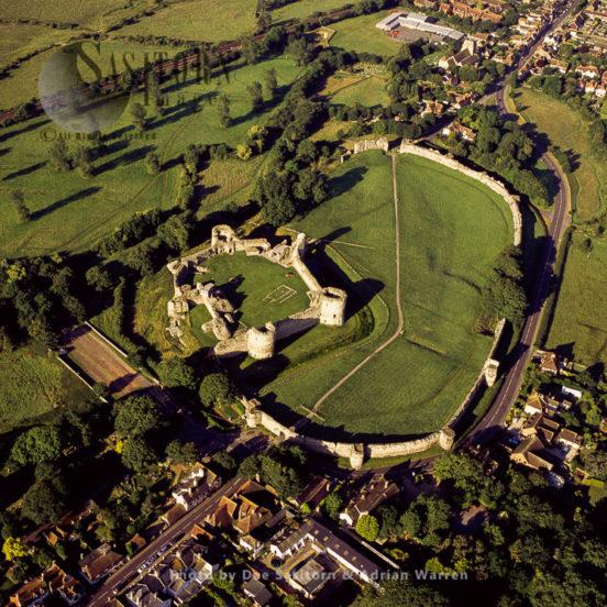 Pevensey Castle, East Sussex