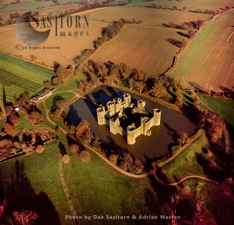 Bodiam Castle, East Sussex, South East England