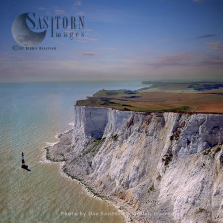White Cliffs At Beachy Head, East Sussex, South East England