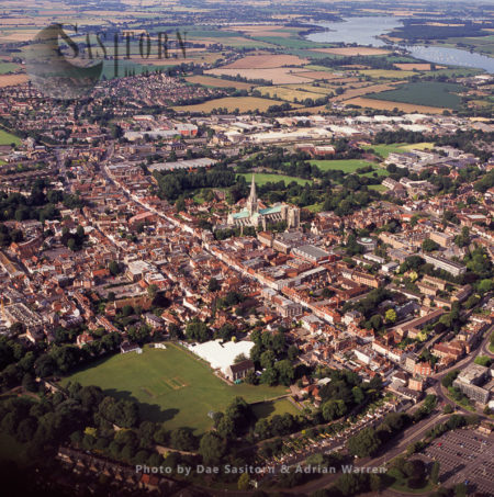 Chichester And Its Cathedral, West Sussex