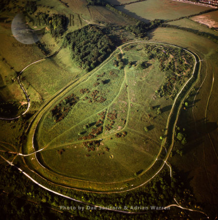 Cissbury Ring, Iron Age Hill Fort, South Downs, Worthing, West Sussex