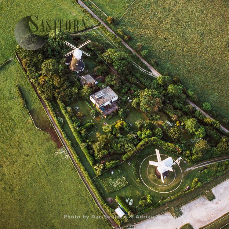 Jack And Jill Windmills, Clayton, Haywards Heath, West Sussex