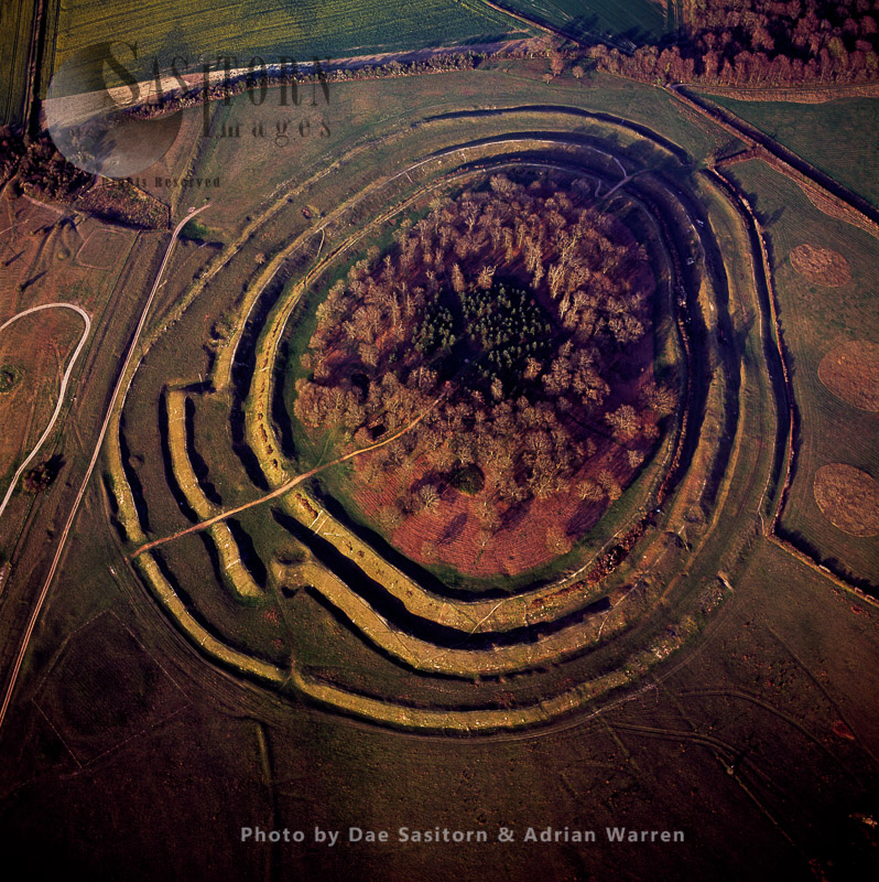 Badbury Rings, Iron Age Hill Fort, Dorset