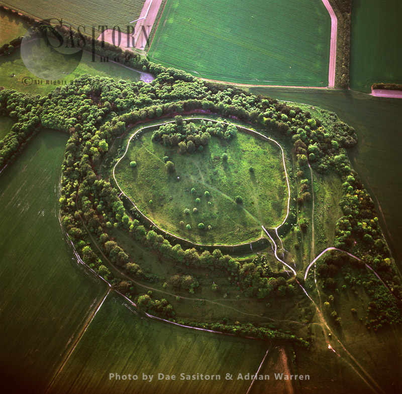 Danebury  Ring, An Iron Age Hillfort, Hampshire