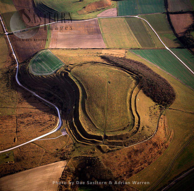 Battlesbury Hill Fort, Wiltshire