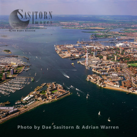 Gosport And Portsmouth, Portsmouth Harbour, Hampshire