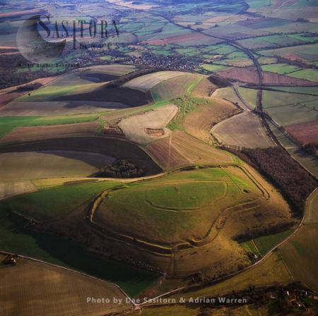 Scratchbury Hill Fort, Wiltshire