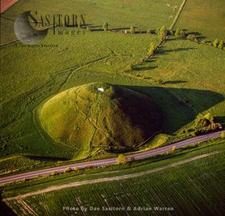 Silbury Hill, Wiltshire, England