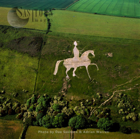 Osmington White Horse, Osmington, Dorset,