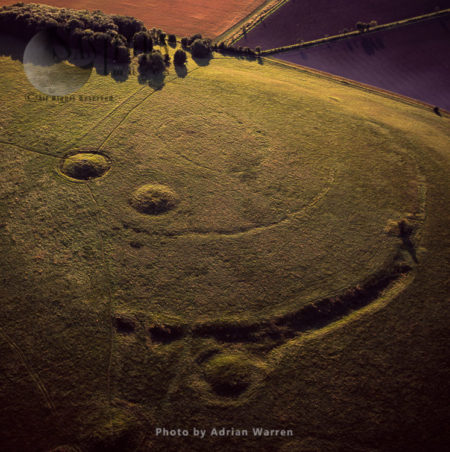 Windmill Hill, A Neolithic Causewayed Enclosure, Wiltshir