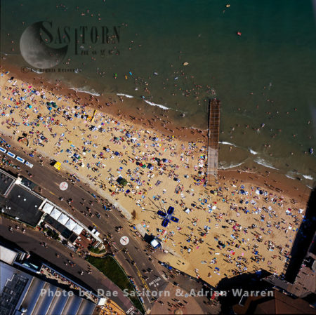 Bournemouth Beach Scene, Dorset