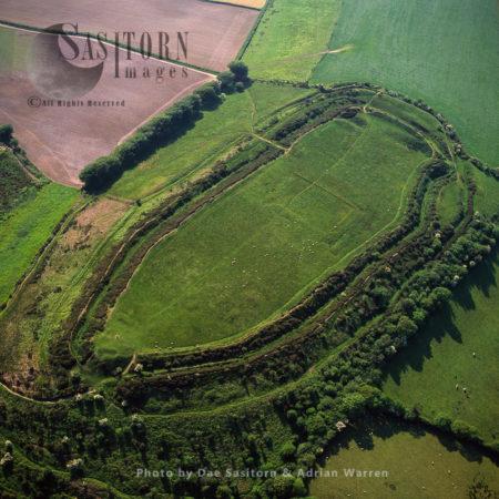 Pilsdon Pen Hll Fort, Dorset: An Iron Age Hill Fort On A Granite Outcrop