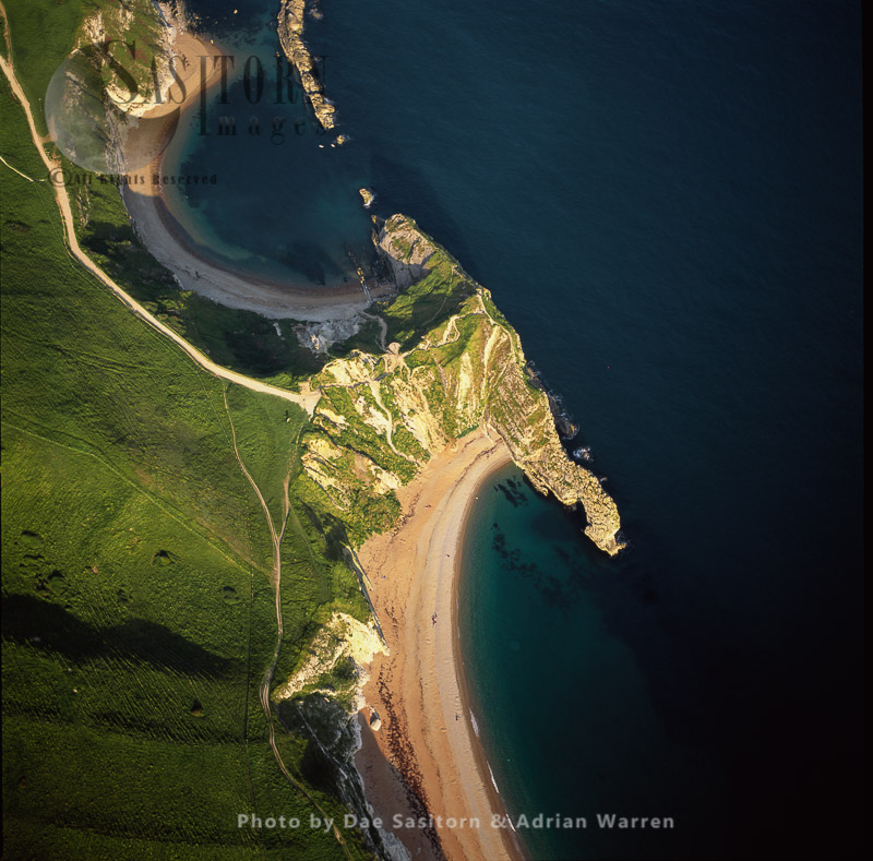 Durdle Door And Man O'War Beach, Dorset