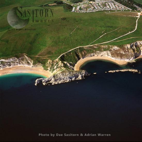 Durdle Door And Man O'War Beach, Dorset