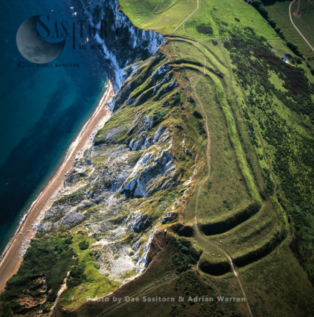 Flower's Barrow Hill Fort, Jurassic Coast, Dorset