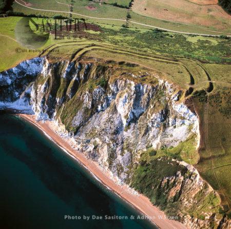 Flower's Barrow Hill Fort, An Iron Age Hillfort, Jurassic Coast, Dorset