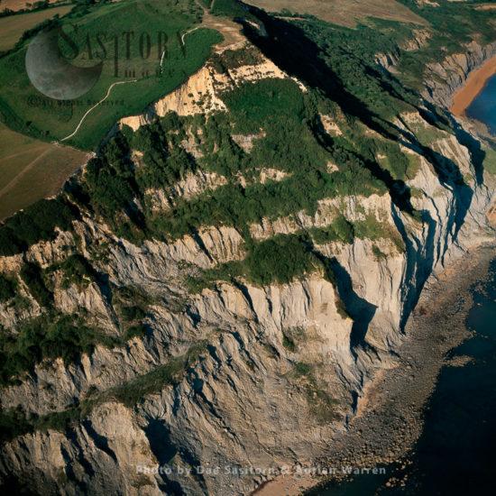 Golden Cap, Jurassic Coast, Dorset,