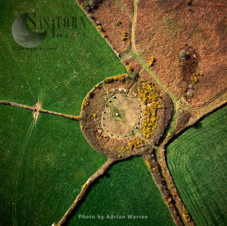 Boscawen-un Stone Circle, St Buryan, Cornwall
