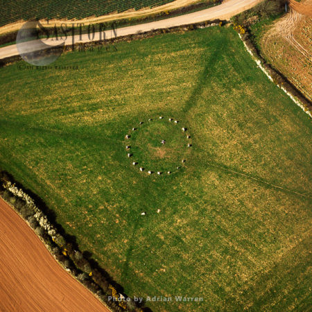 Merry Maidens Stone Circle, Lamorna, Cornwall