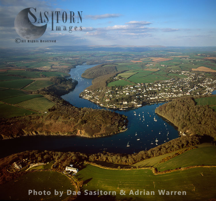 Newton Ferrers, on the River Yealm estuary, South Devon
