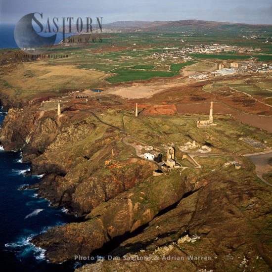 Levant Tin And Copper Mines , Cornwall