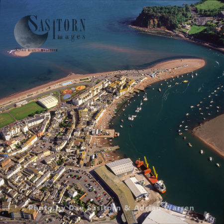 Teignmouth, On The Estuary Of The River Teign, South Devon