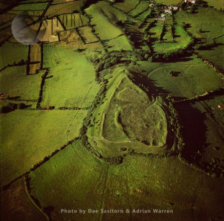 Brent Knoll, A Heart Shape Hill Fort, Somerset