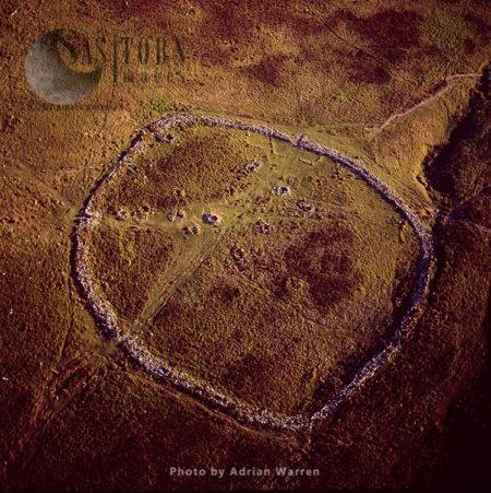 Grimspound Bronze Age Settlement, Dartmoor, Devon