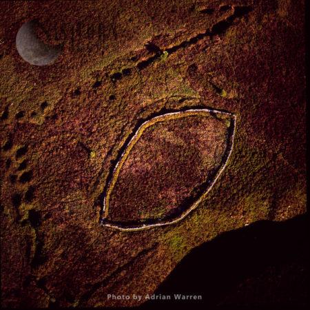 A Pound Near Grimspound Bronze Age Settlement, Dartmoor, Devon