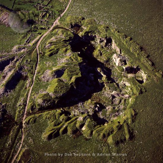 Foggintor Quarry, Disused Granite Quarry, Dartmoor, Devon