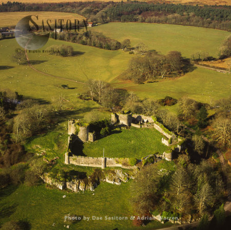 Penrice Castle,  Penrice, Swansea, Gower Peninsula, Wales