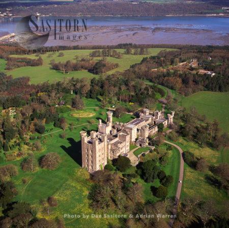 Penrhyn Castle, Llandegai, Bangor, Gwynedd, North Wales
