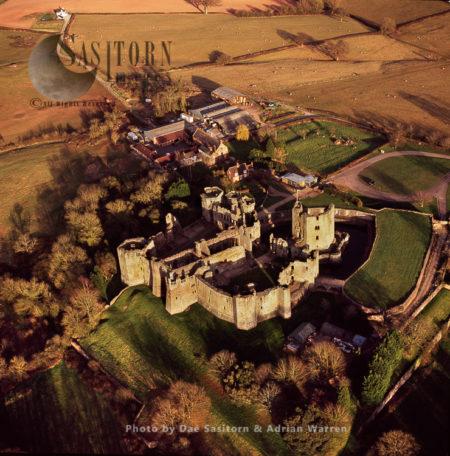 Raglan Castle, South Wales