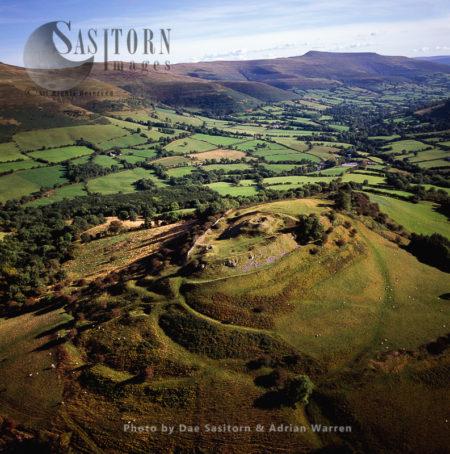 Castell Dinas, Near Talgarth,  Powys,, Wales