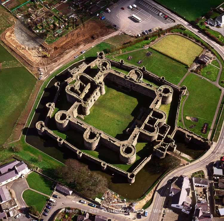 Beaumaris Castle On Island Of Anglesey, North Wales