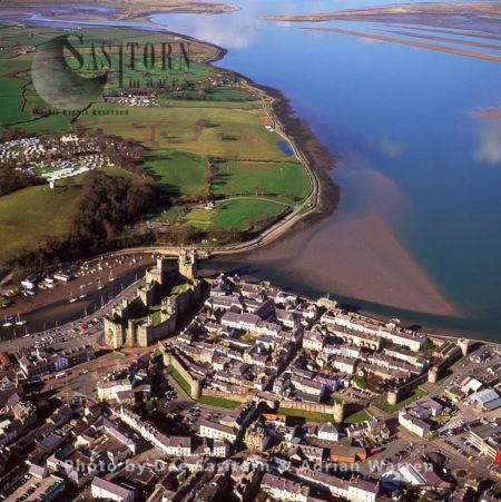 Caernarfon (or Caernarvon), On The Menai Strait, North Wales